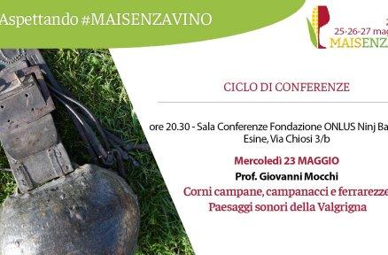 Aspettando #MAISENZAVINO – Ciclo di conferenze
