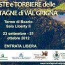 """Mostra """"Foreste e Torbiere delle montagne di Val Grigna"""" alle Terme di Boario"""