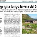 """Il Giornale di Brescia parla de """"La Via dei Silter"""""""