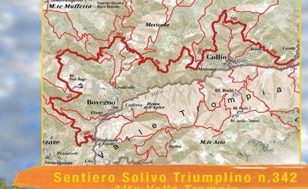 """Presentato il pieghevole """"Sentiero Solivo Triumplino n. 342 – Alta Valle Trompia"""""""
