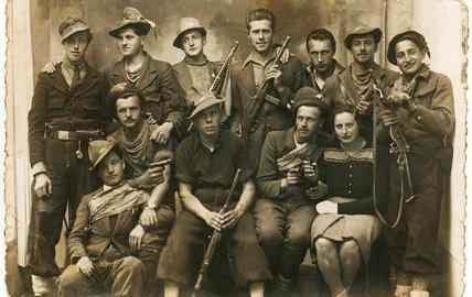 Partigiani della Val Grigna al Cinema Oratorio di Esine