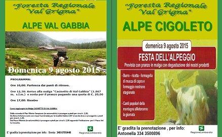 Foresta Regionale Valgrigna: doppia festa anche il 9 agosto
