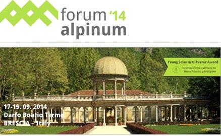 """Forum Alpinum 2014: """"Le risorse delle Alpi"""""""