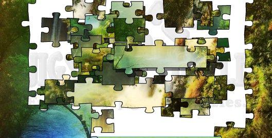 """Puzzle didattico """"Amazing nature"""""""