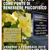 Venerdì 8 febbraio 2019 Biblioteca Civica – Berzo Inferiore